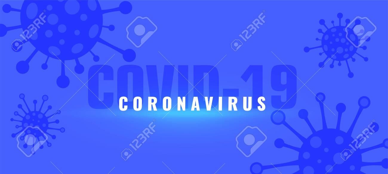 coronavirus covid-19 outbreak pandemic background with viruses - 142301444