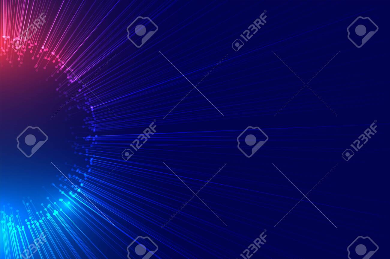 beam of lights bursting out technology background - 152588250