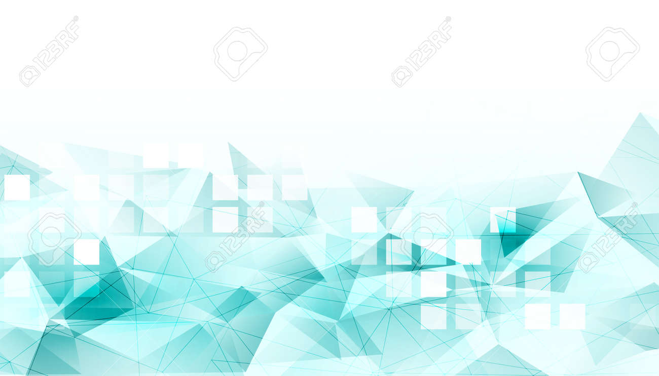 abstract low poly background with mosaic tiles - 157195996