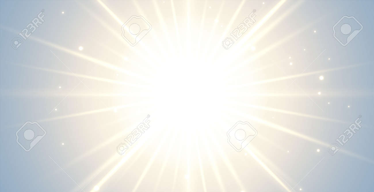 glowing background with bursting rays - 169703523