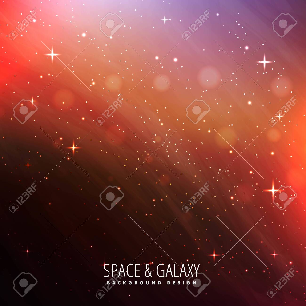 abstract colorful beautiful universe stars galaxy background - 153003882