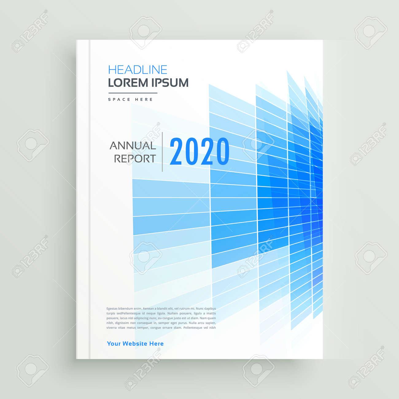 abstract blue business brochure leaflet design - 149169639