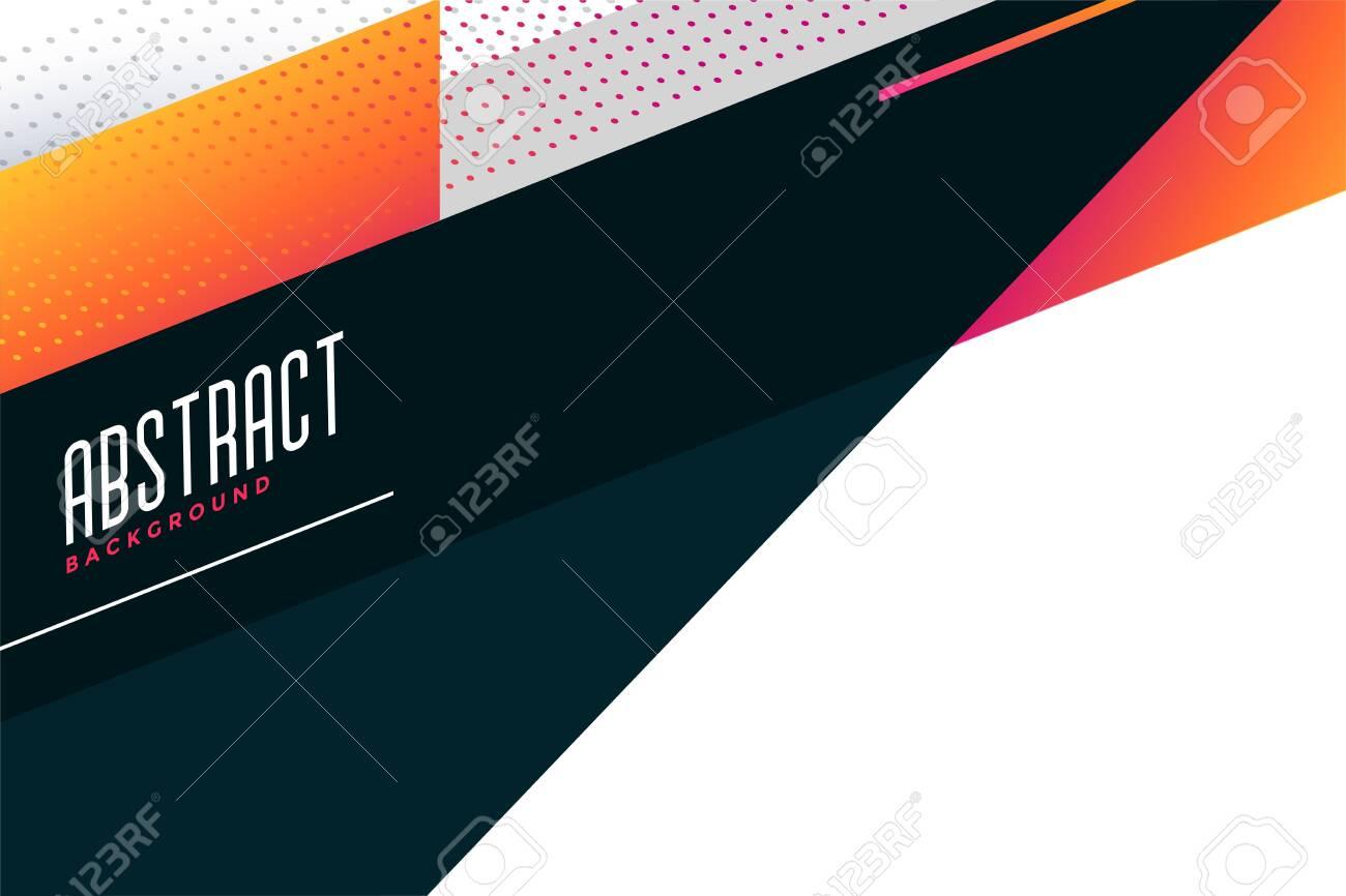 abstract stylish geometric background design - 149496873