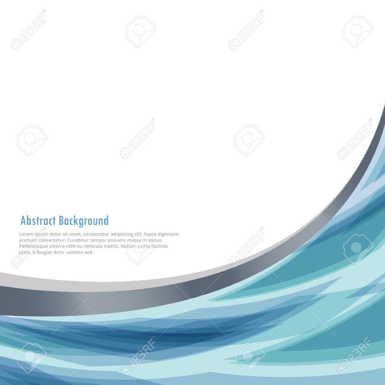business background with abstract wave - 149698413