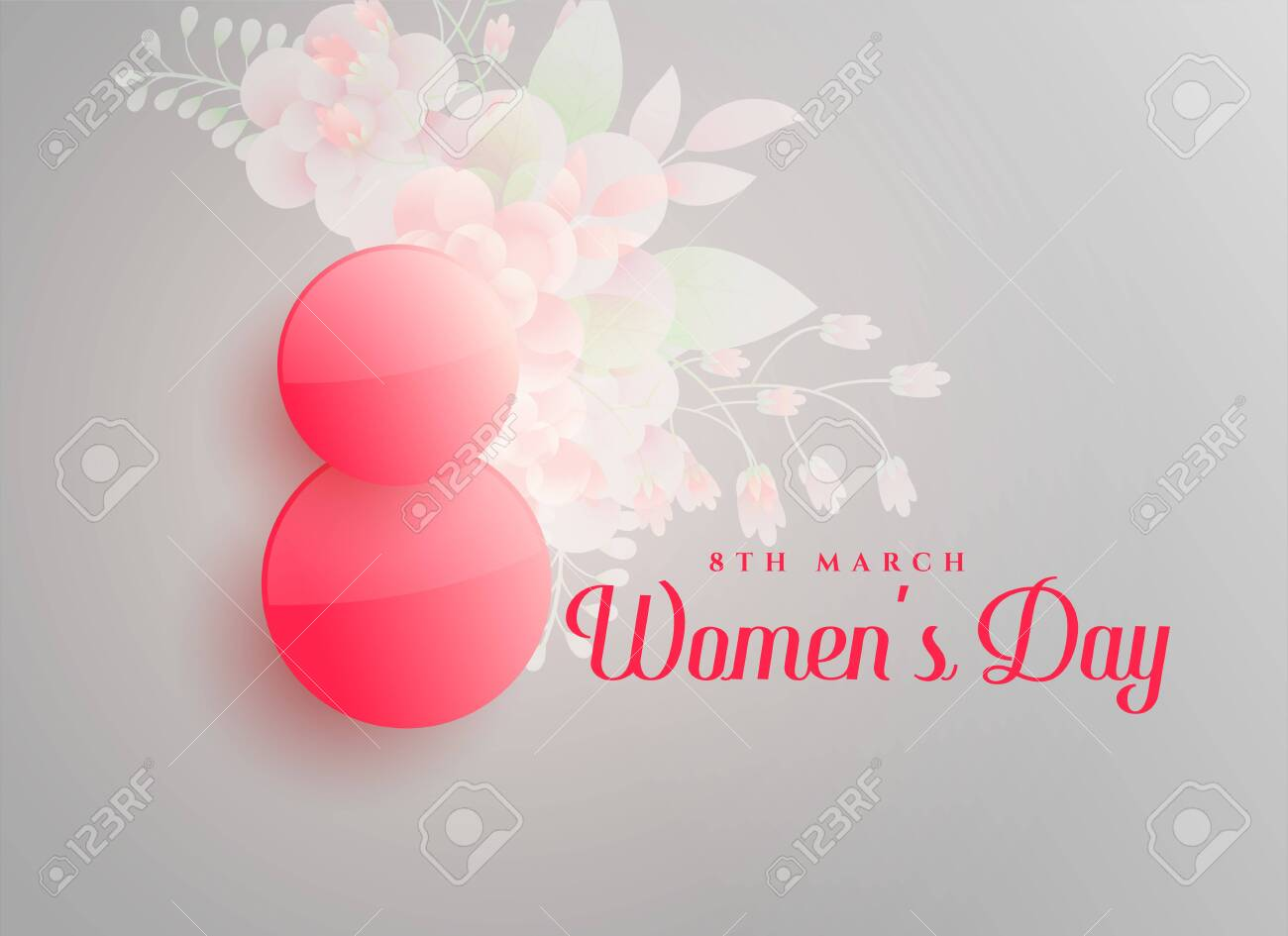 march 8th happy women's day background - 149772761