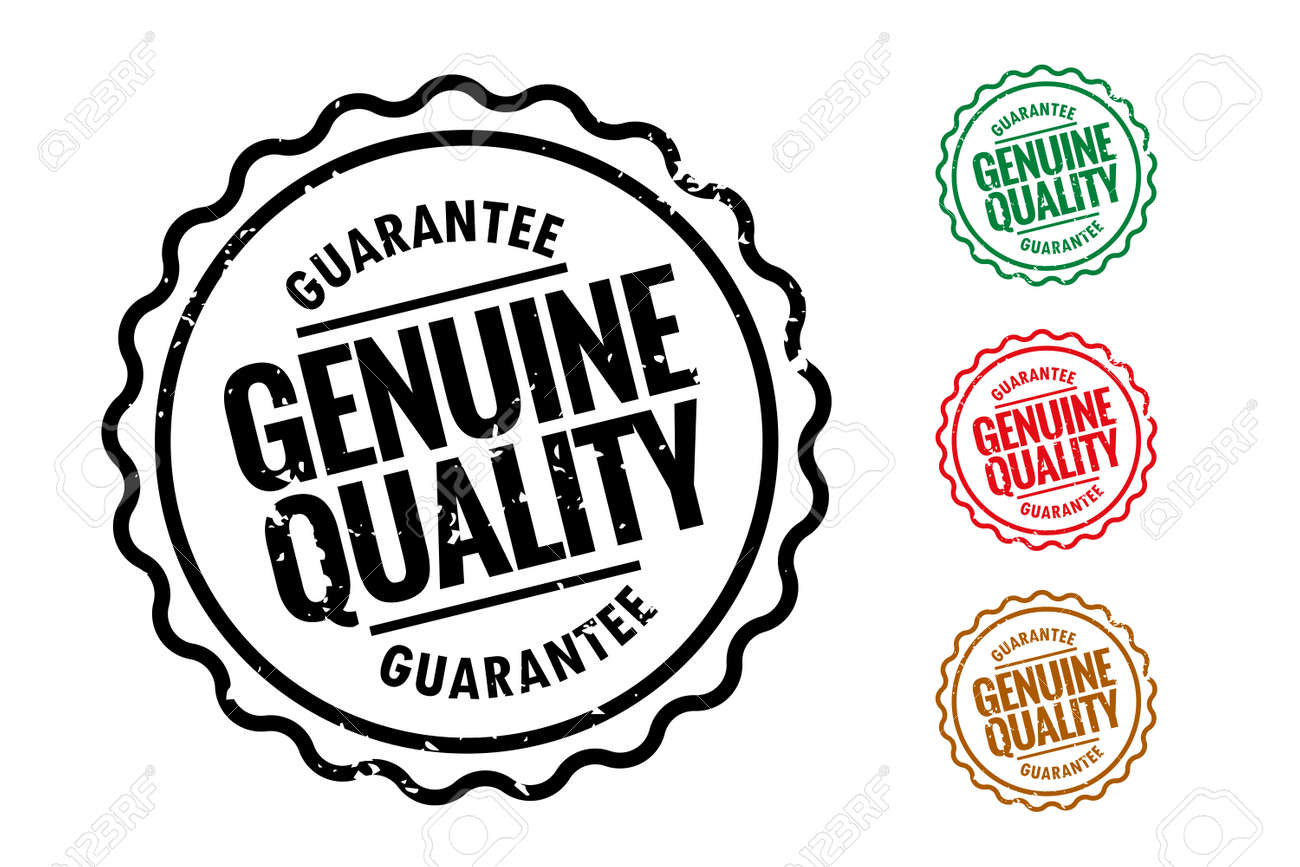 genuine quality rubber stamps set of four - 167909915