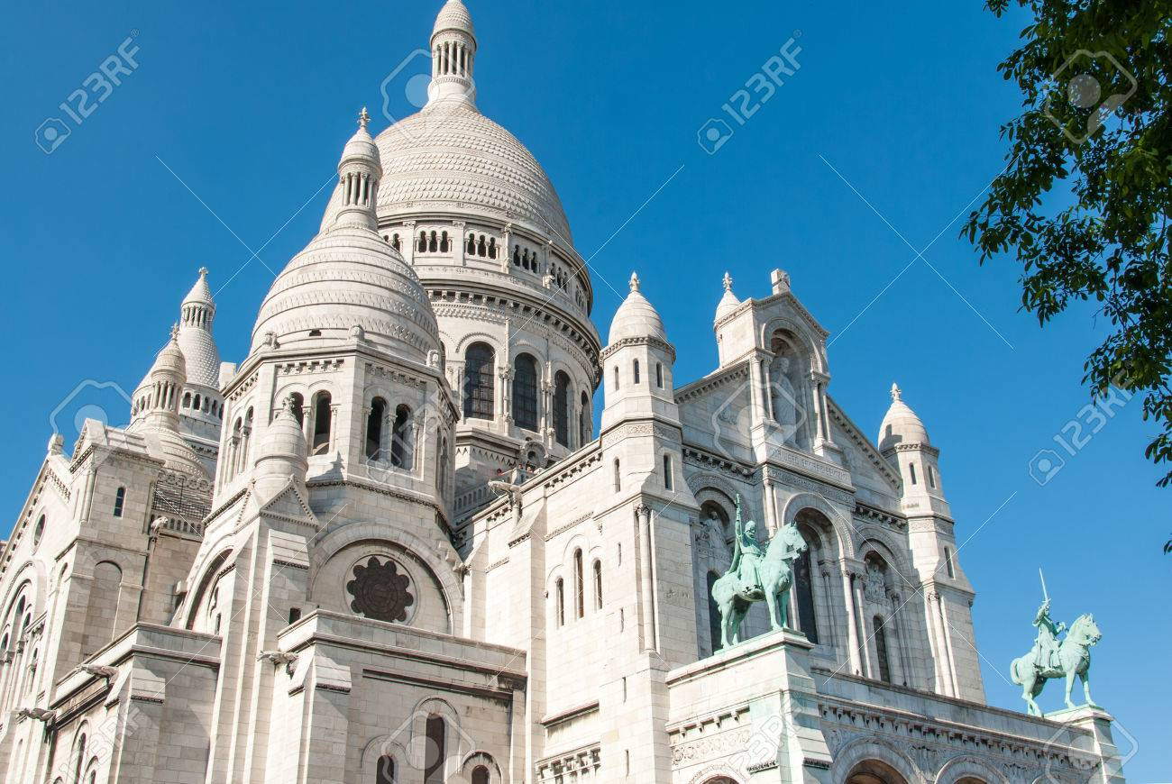 The Basilica of the Sacr Cur on Montmartre