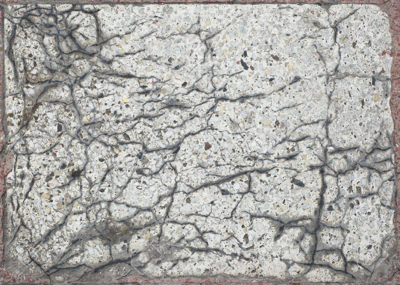 old cracked artificial marble slab grunge texture Stock Photo - 668232