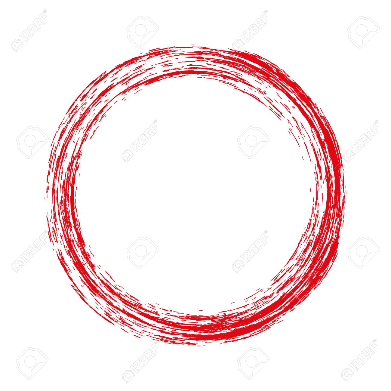 round red frame with grunge vector illustration royalty free rh 123rf com grunge vector texture grunge vector backgrounds