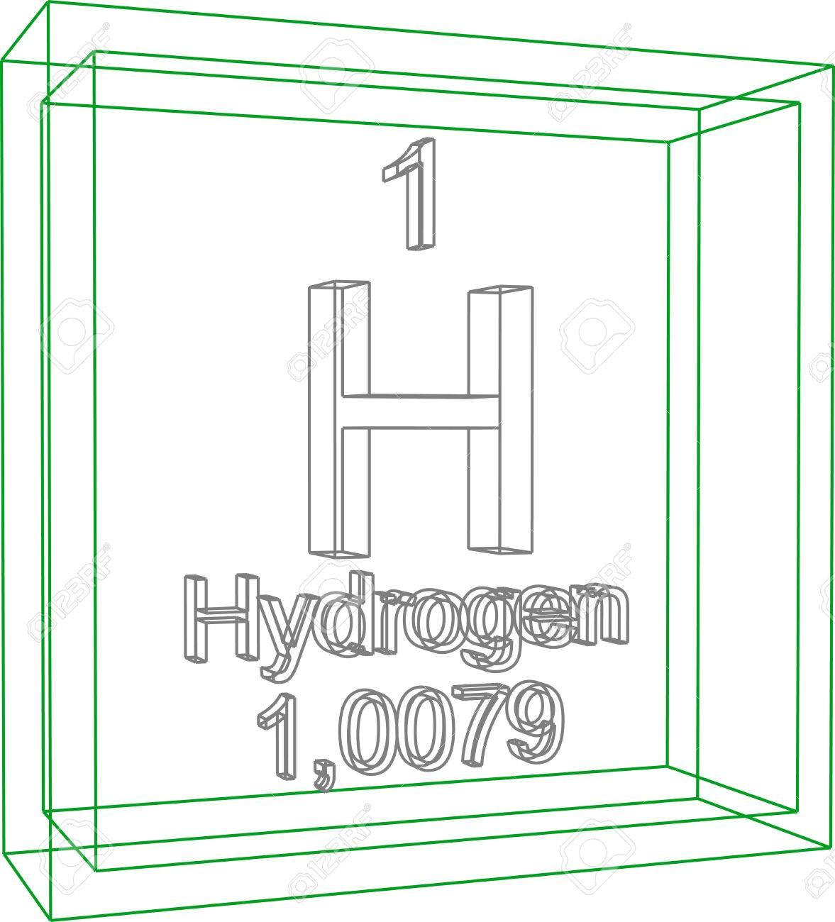 Tabla peridica de los elementos el hidrgeno ilustraciones foto de archivo tabla peridica de los elementos el hidrgeno urtaz Choice Image