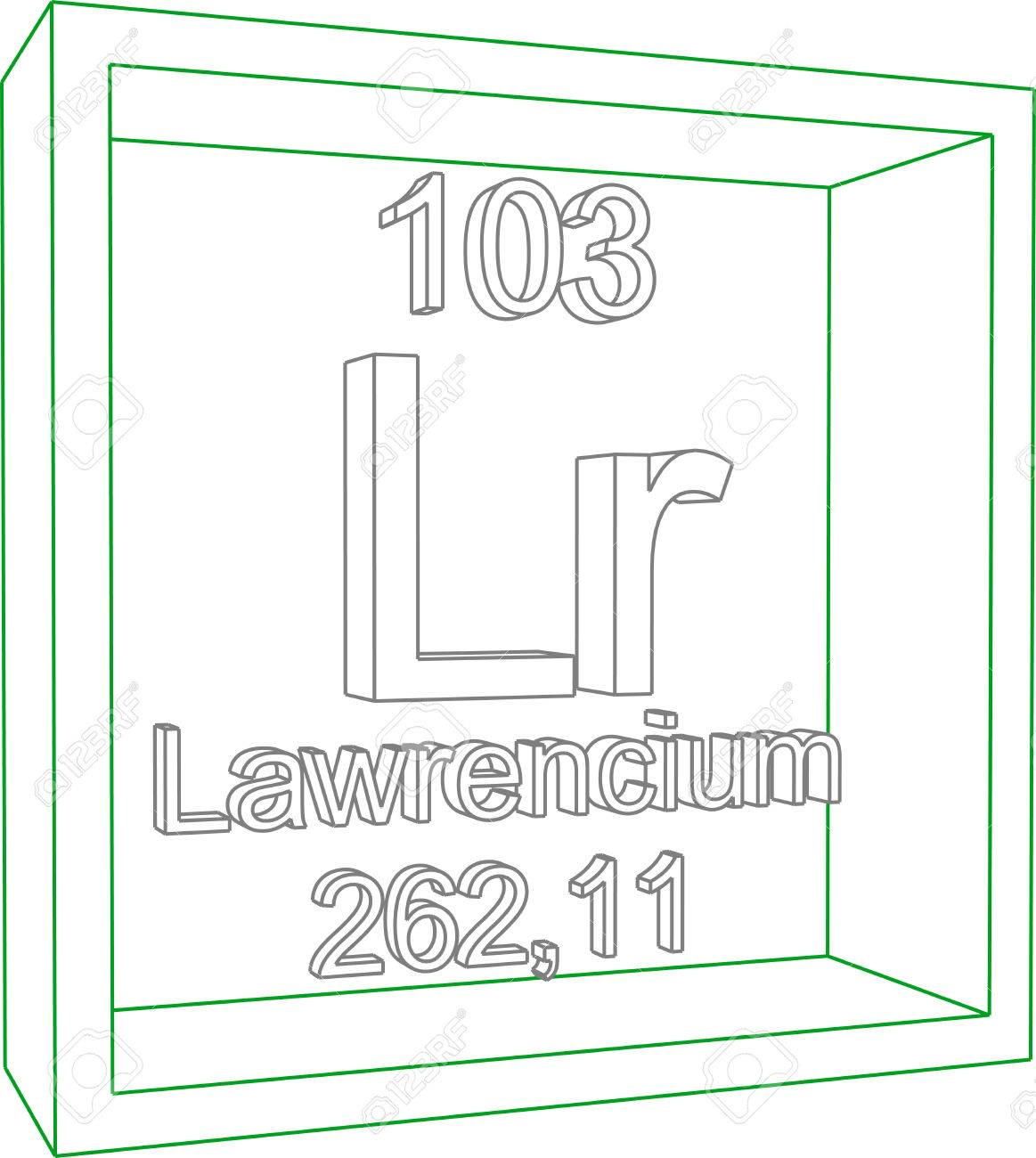 Lawrencium periodic table gallery periodic restaurant layout periodic table of elements lawrencium royalty free cliparts 57951658 periodic table of elements lawrencium stock vector gamestrikefo Image collections