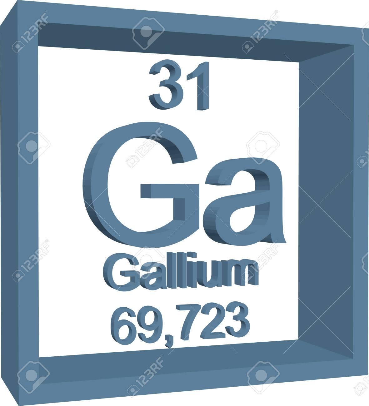 tabla peridica de los elementos galio foto de archivo 57951780 - Tabla Periodica De Los Elementos Galio