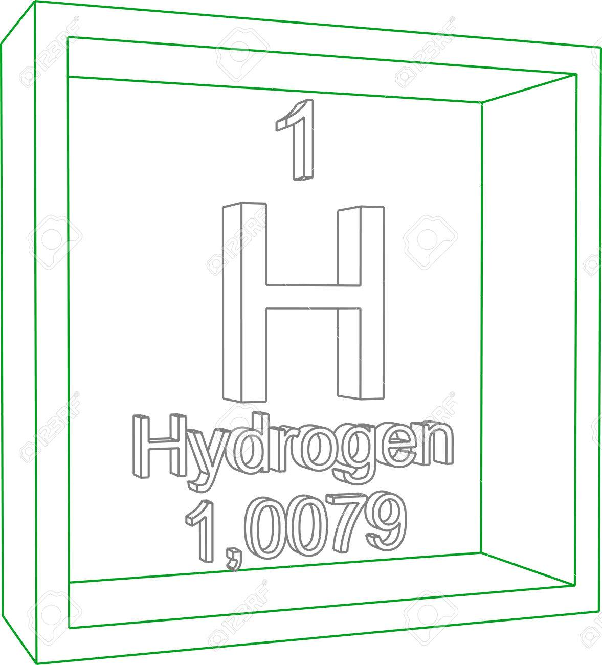 Periodic table of elements hydrogen choice image periodic table periodic table of elements hydrogen royalty free cliparts periodic table of elements hydrogen stock vector 57952129 gamestrikefo Choice Image