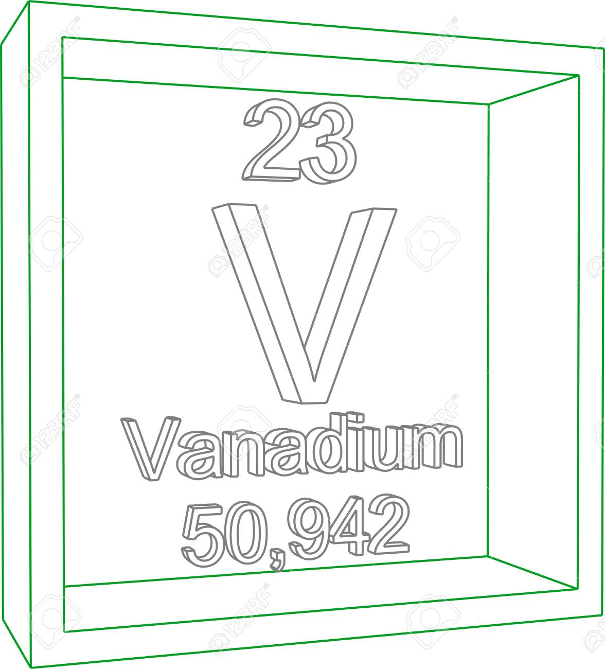 Periodic table of elements vanadium royalty free cliparts vectors periodic table of elements vanadium stock vector 57961373 urtaz Choice Image