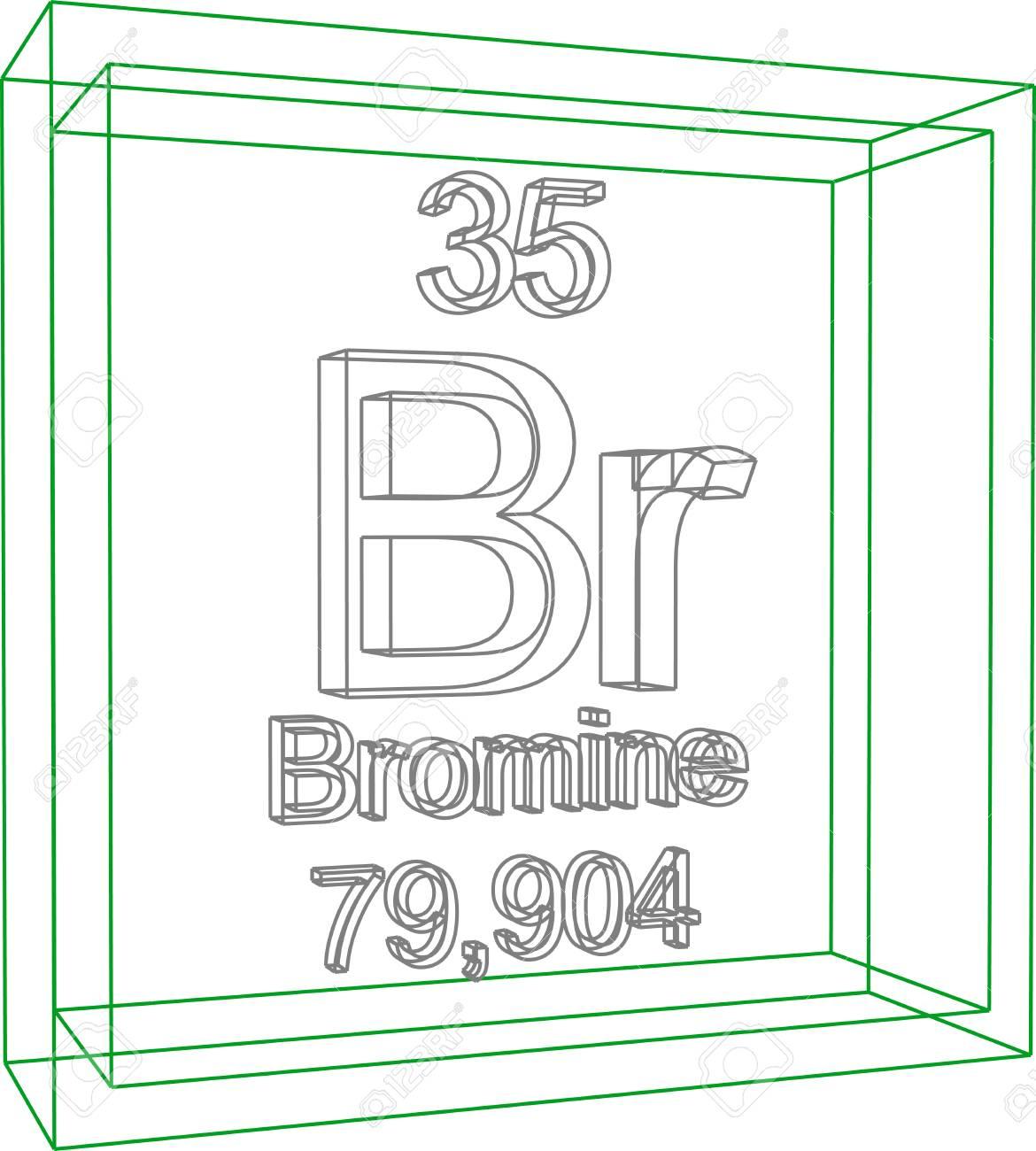 Tabla peridica de los elementos bromo ilustraciones vectoriales foto de archivo tabla peridica de los elementos bromo urtaz Image collections