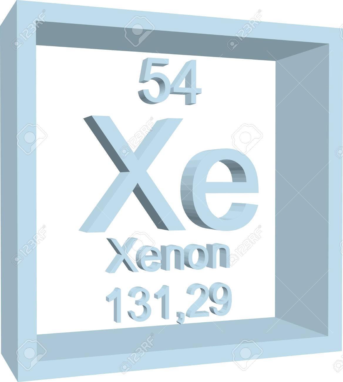 Tabla peridica de los elementos xenon ilustraciones vectoriales foto de archivo tabla peridica de los elementos xenon urtaz Choice Image