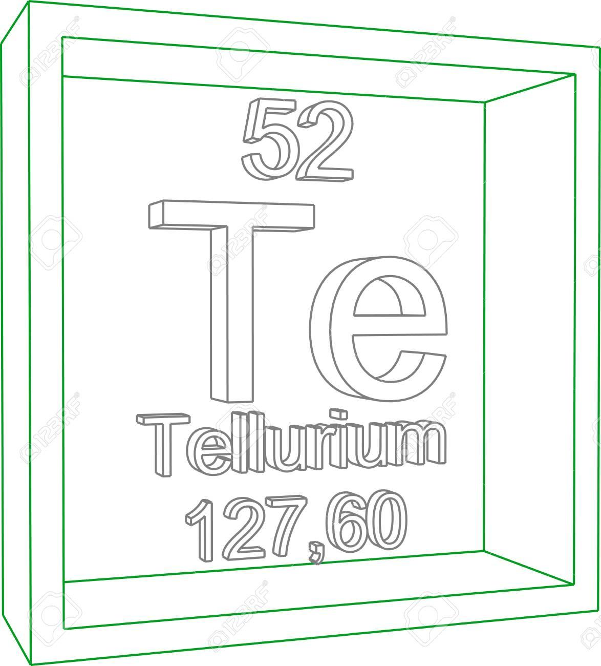 Tabla peridica de los elementos telurio ilustraciones vectoriales foto de archivo tabla peridica de los elementos telurio urtaz Gallery