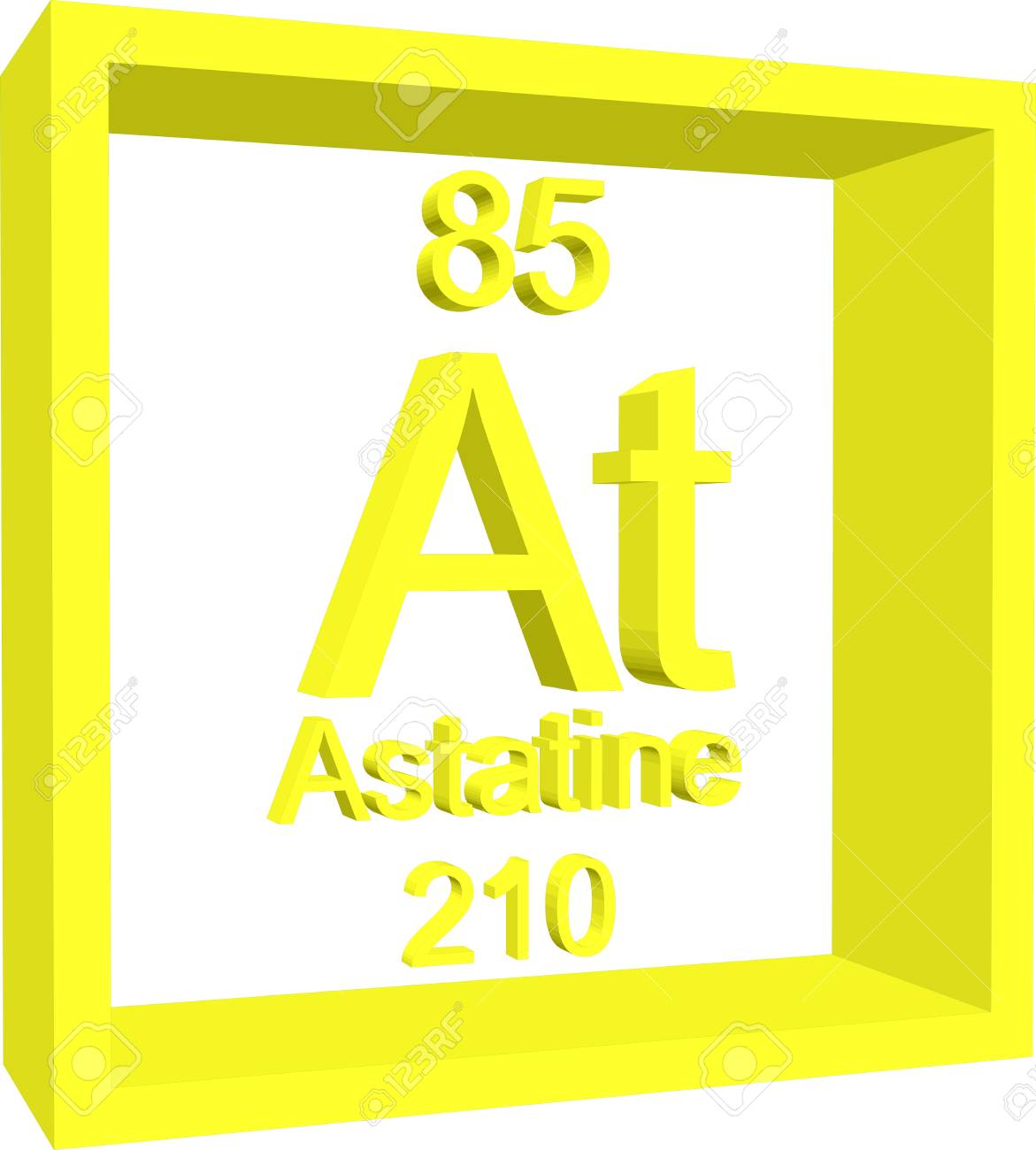 Periodic table of elements astatine royalty free cliparts vectors periodic table of elements astatine stock vector 57967481 urtaz Image collections