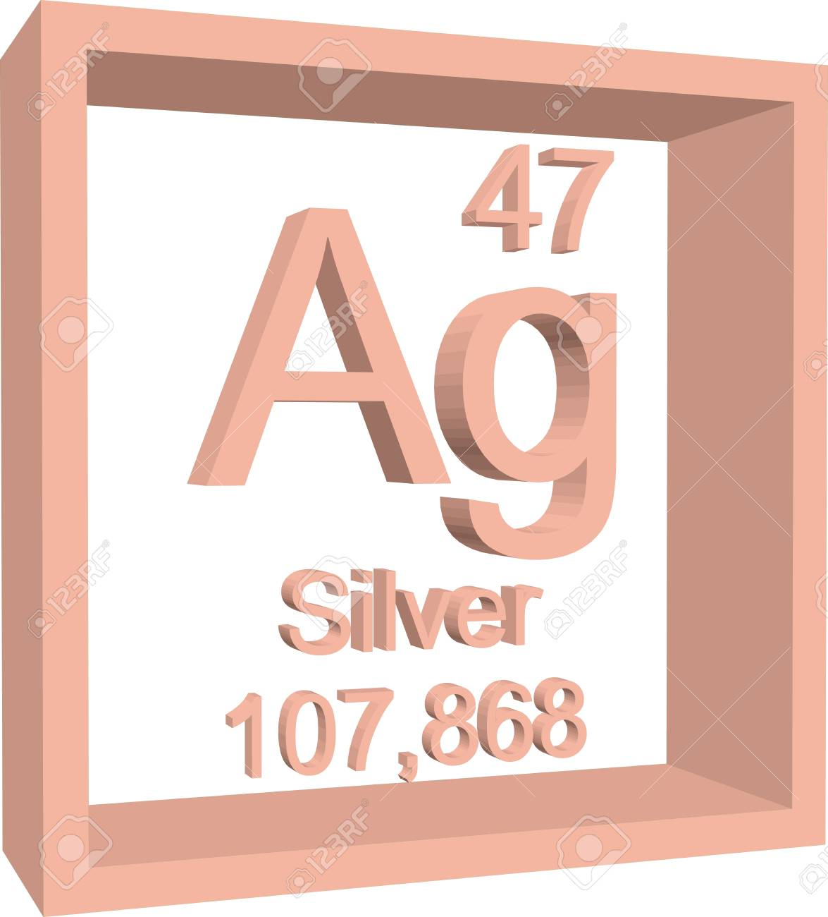 Periodic table of elements silver royalty free cliparts vectors periodic table of elements silver stock vector 57967517 urtaz Image collections