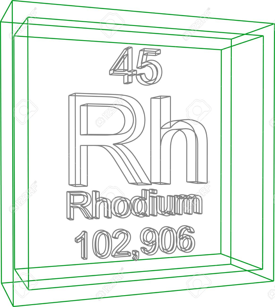 Periodic table rhodium gallery periodic table images periodic table of elements rhodium royalty free cliparts periodic table of elements rhodium stock vector 57970230 gamestrikefo Image collections