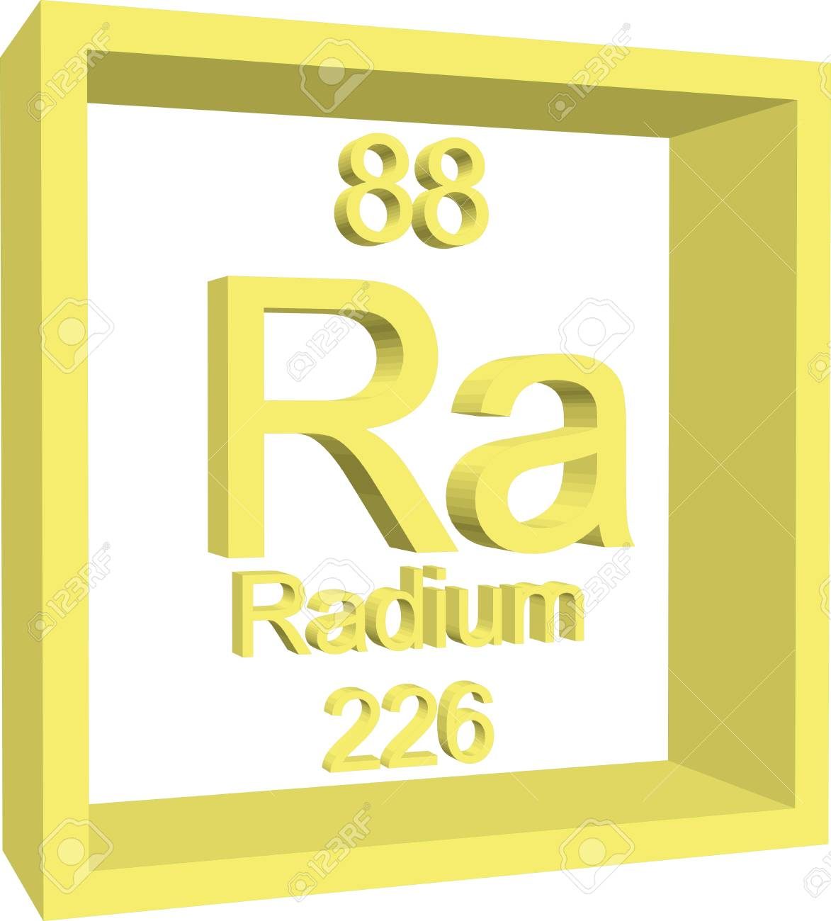 Radium periodic table images periodic table images periodic table of elements radium royalty free cliparts vectors periodic table of elements radium stock vector gamestrikefo Images