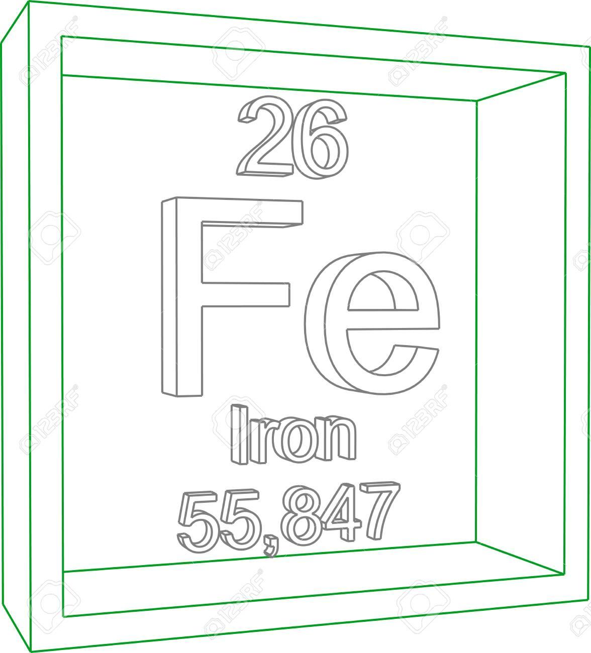 Tabla peridica de los elementos hierro ilustraciones tabla peridica de los elementos hierro foto de archivo 57970399 urtaz Images