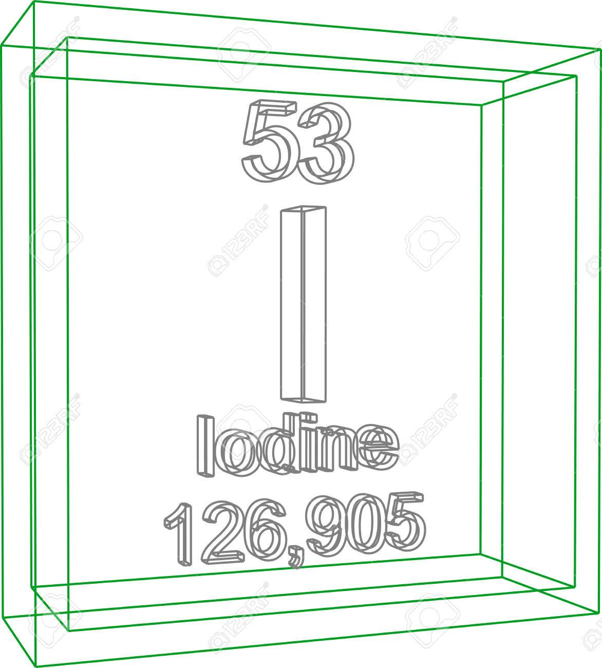 Periodic table iodine image collections periodic table images periodic table of elements iodine royalty free cliparts vectors periodic table of elements iodine stock vector gamestrikefo Choice Image