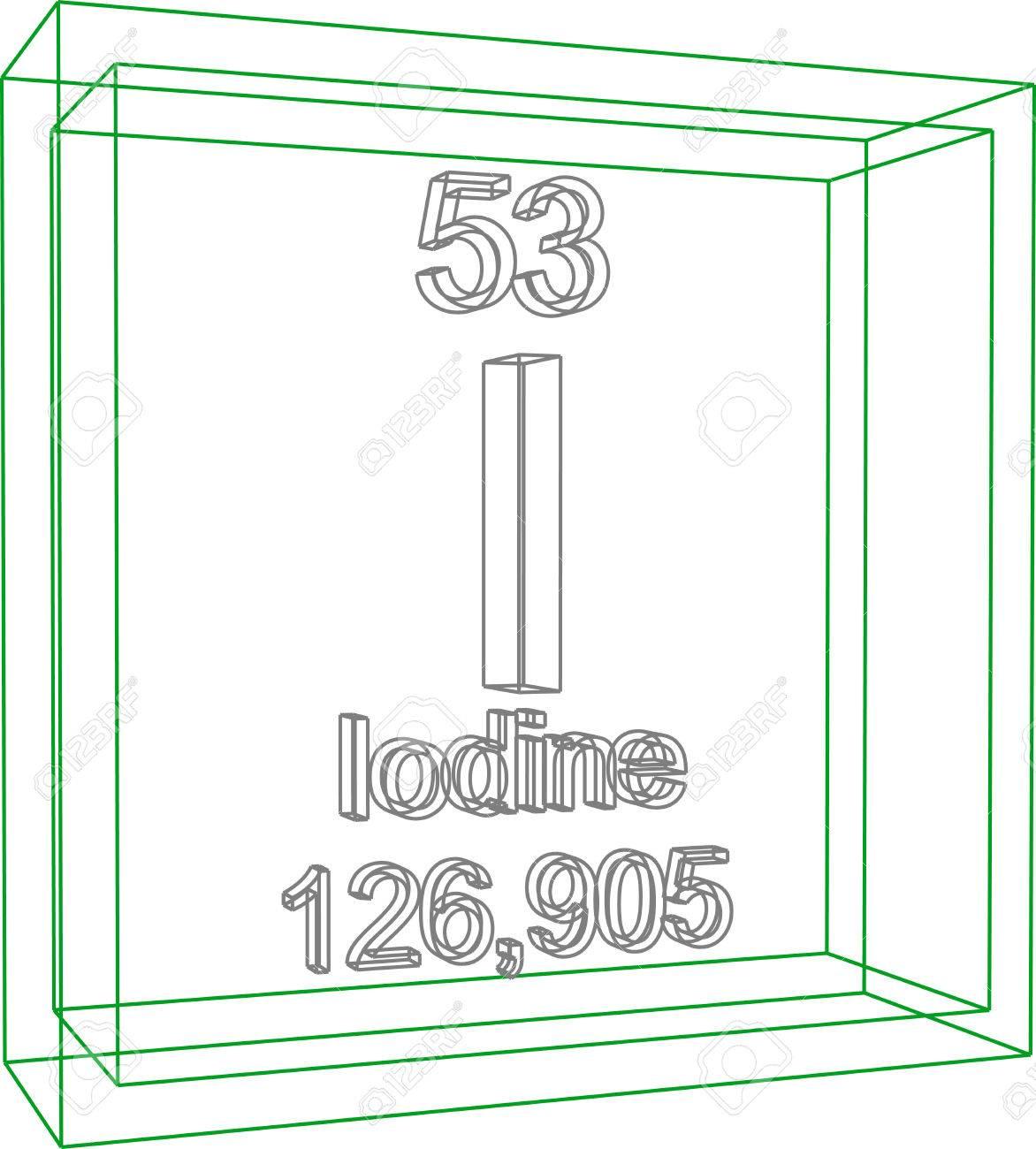 Tabla peridica de los elementos yodo ilustraciones vectoriales foto de archivo tabla peridica de los elementos yodo urtaz Image collections