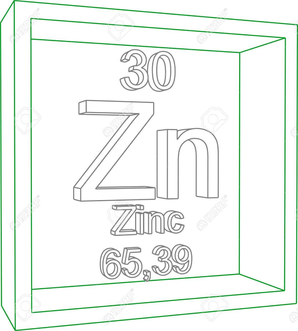 Tabla peridica de los elementos zinc ilustraciones vectoriales foto de archivo tabla peridica de los elementos zinc urtaz Images