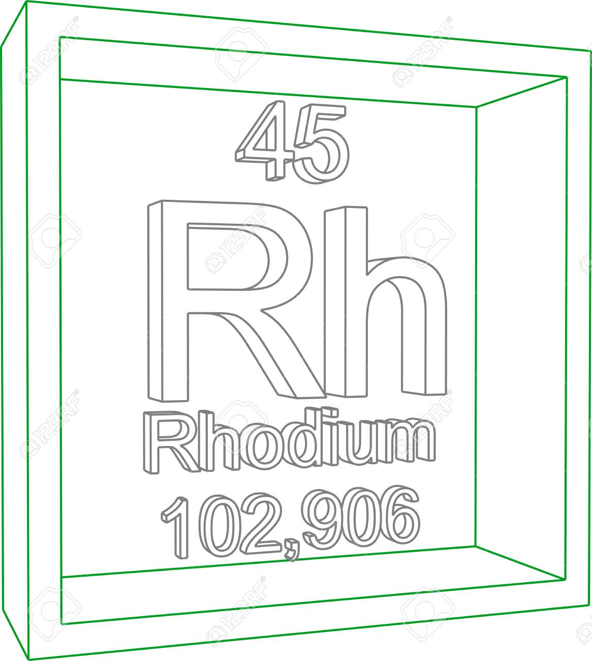 Rhodium on periodic table image collections periodic table images periodic table of elements rhodium royalty free cliparts periodic table of elements rhodium stock vector 57970473 gamestrikefo Image collections