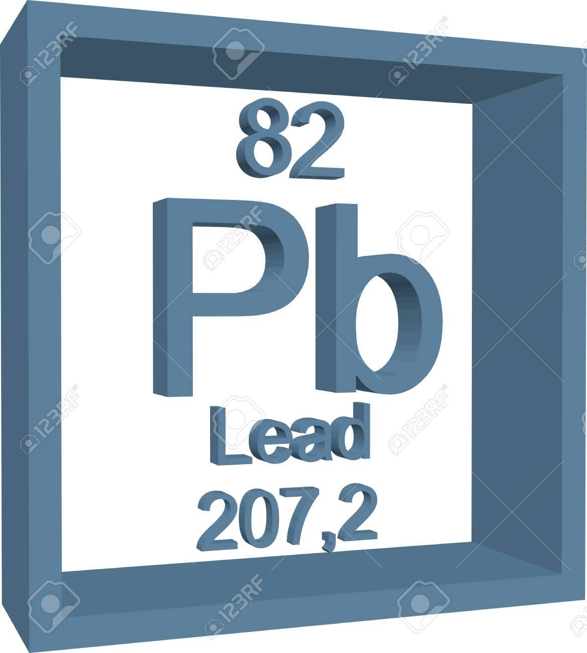 Periodic table of elements lead royalty free cliparts vectors periodic table of elements lead stock vector 57970969 urtaz Choice Image