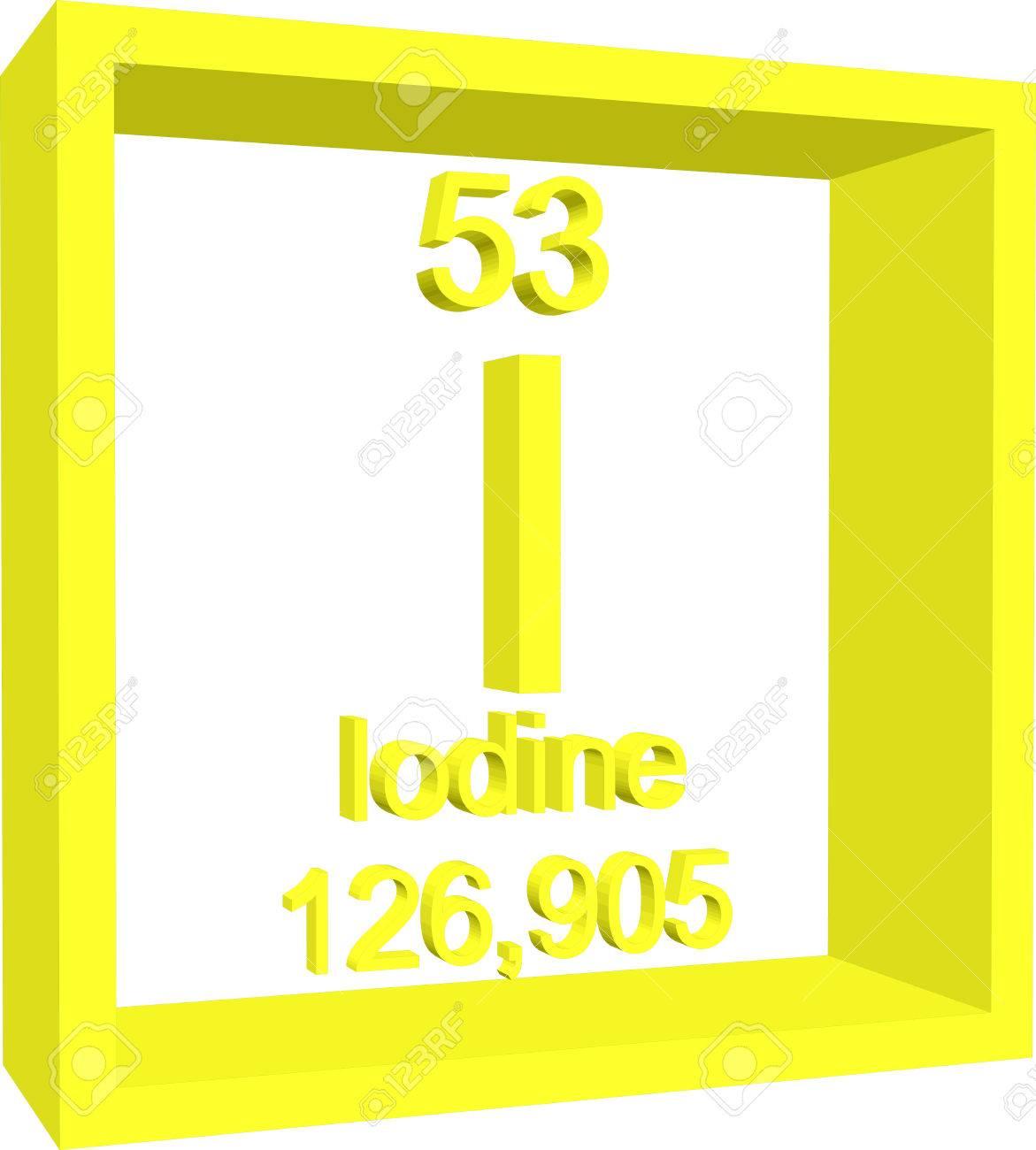 Periodic table of elements iodine royalty free cliparts vectors periodic table of elements iodine stock vector 57971274 urtaz Choice Image