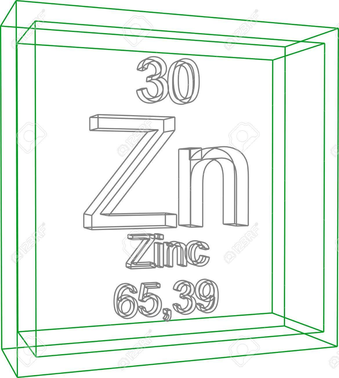 Tabla peridica de los elementos zinc ilustraciones vectoriales foto de archivo tabla peridica de los elementos zinc urtaz Image collections