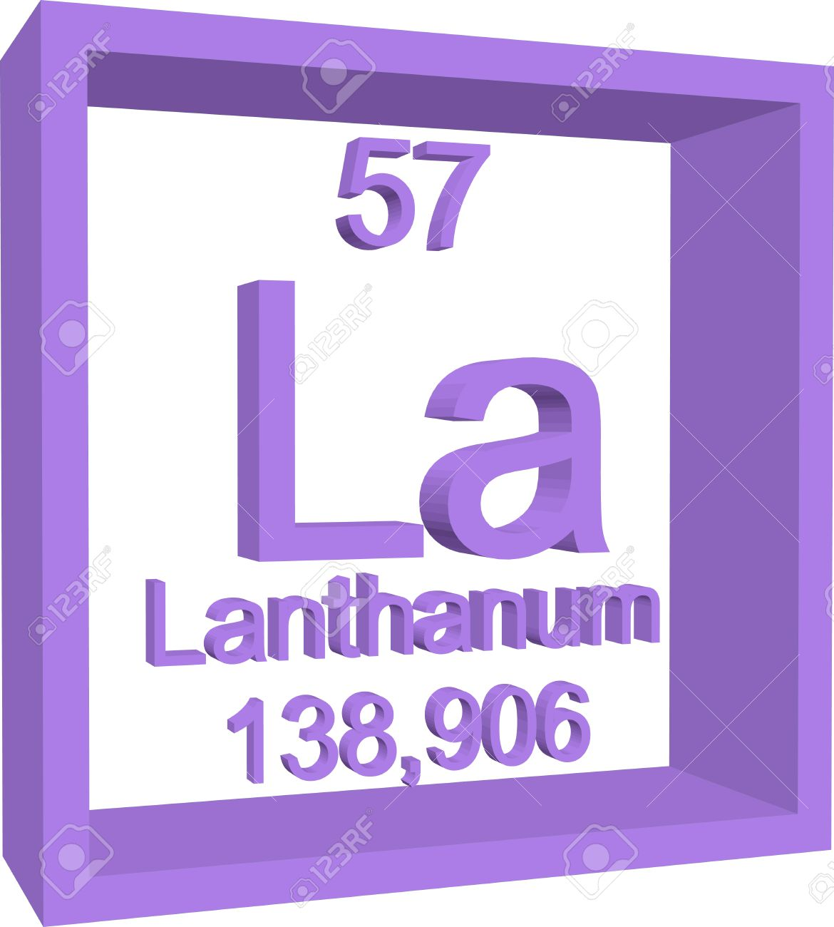 Periodic table of elements lanthanum royalty free cliparts periodic table of elements lanthanum stock vector 57971836 gamestrikefo Gallery