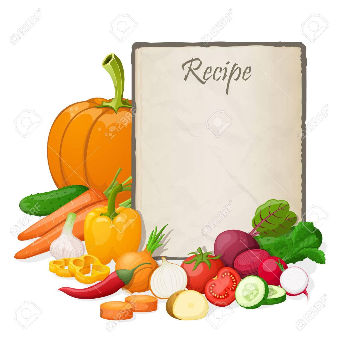 Modele Fiche Recette Cuisine Vierge Zm52 Montrealeast