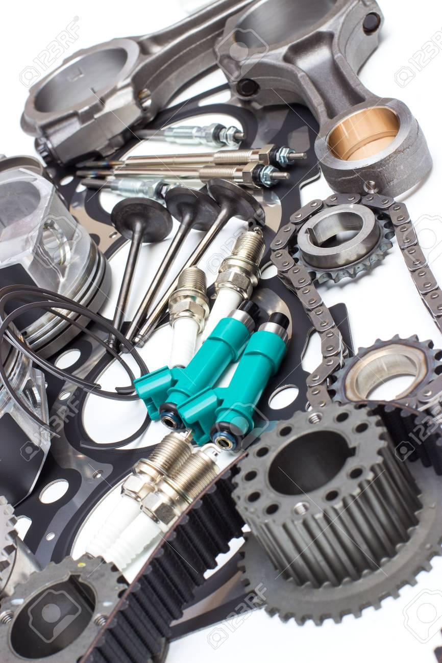 Ungewöhnlich Automobil Motorteile Galerie - Schaltplan Serie Circuit ...
