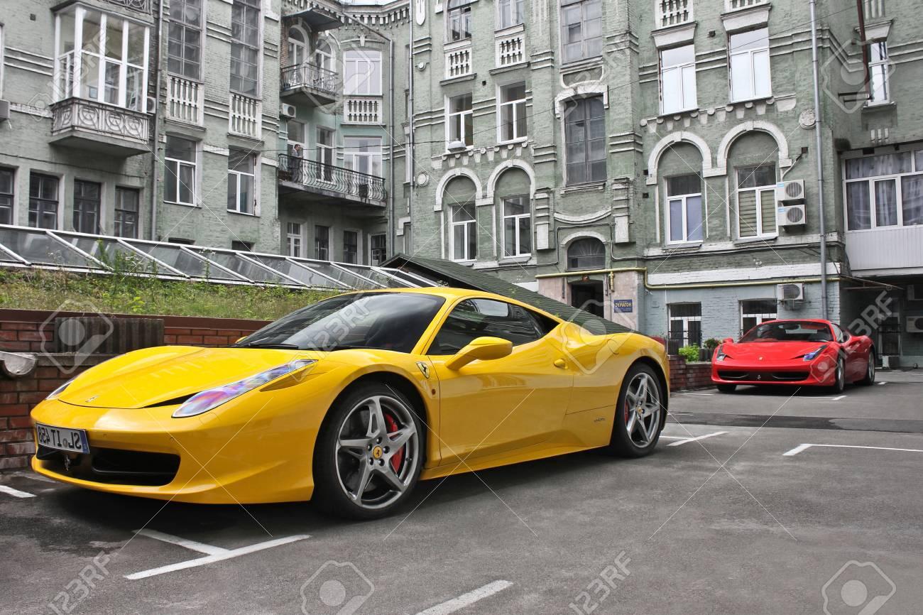 February 27 Ukraine Kiev Ferrari 458 Italia And Ferrari 458 Stock Photo Picture And Royalty Free Image Image 89239749