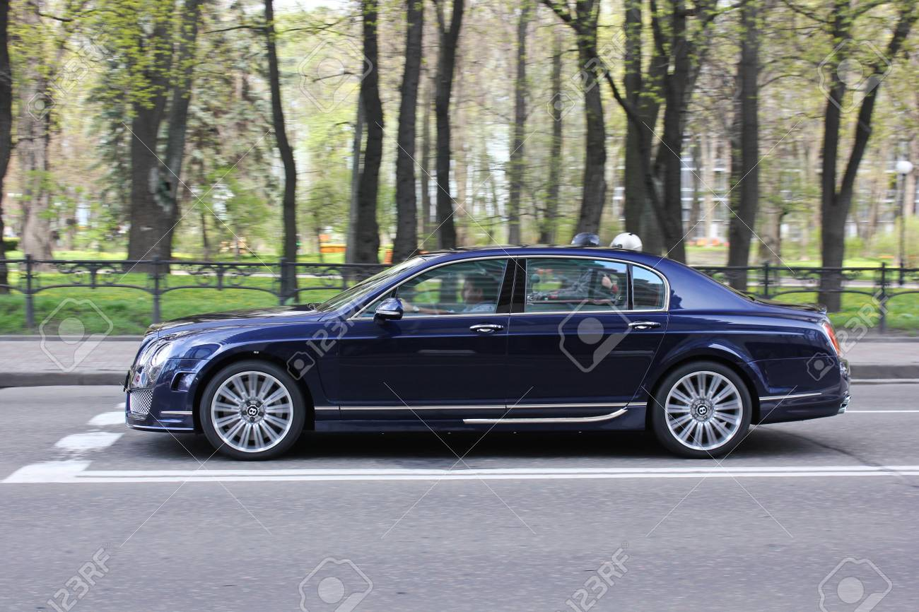 Kiev Ukraine 2017 September Bentley Continental Flying Spur Stock Photo Picture And Royalty Free Image Image 92973168