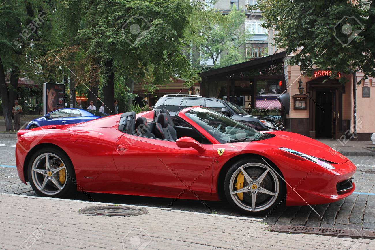 2014 Ferrari 458 Spider >> Kiev Ukraine May 16 2014 Ferrari 458 Spider Car City Tuning