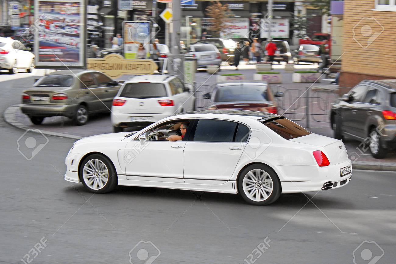 Kiev Ukraine 2017 September Bentley Continental Flying Spur Stock Photo Picture And Royalty Free Image Image 97261252