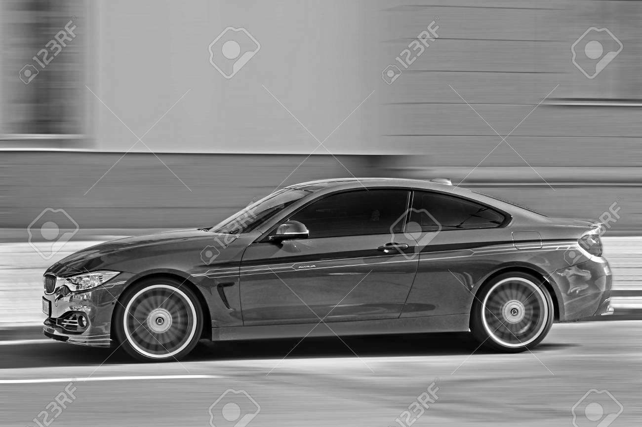Kharkov Ukraine May 18 2016 Bmw In Motion Bmw M4 The Car