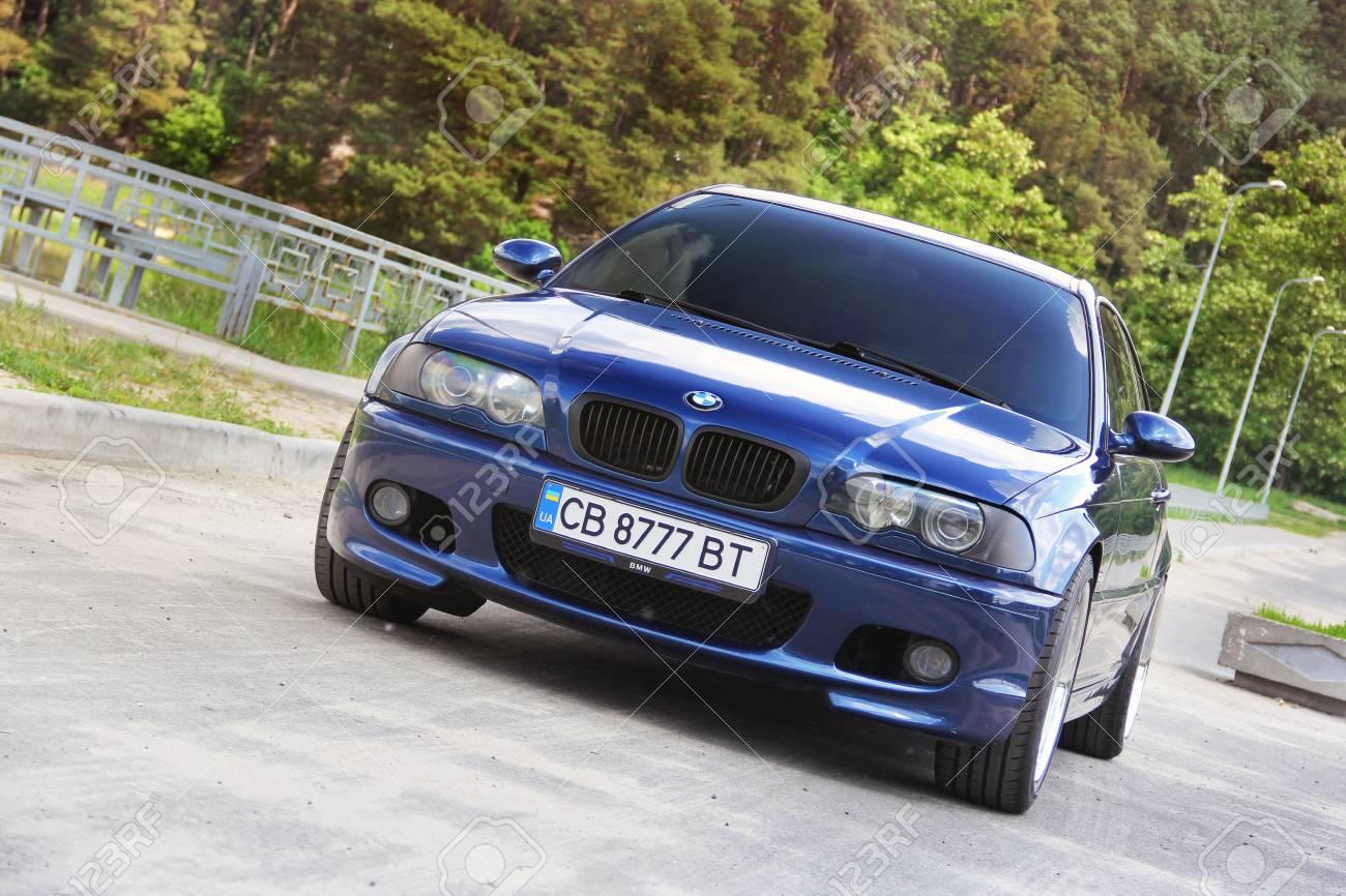 Chernihiv Ukraine May 24 2019 Bmw E46 Sports Car In The
