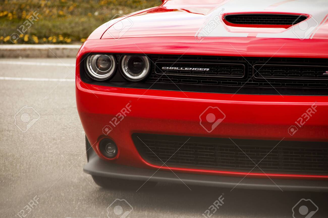 Kiev Ukraine April 21 2020 Muscle Car Dodge Challenger Srt8 Stock Photo Picture And Royalty Free Image Image 146389471