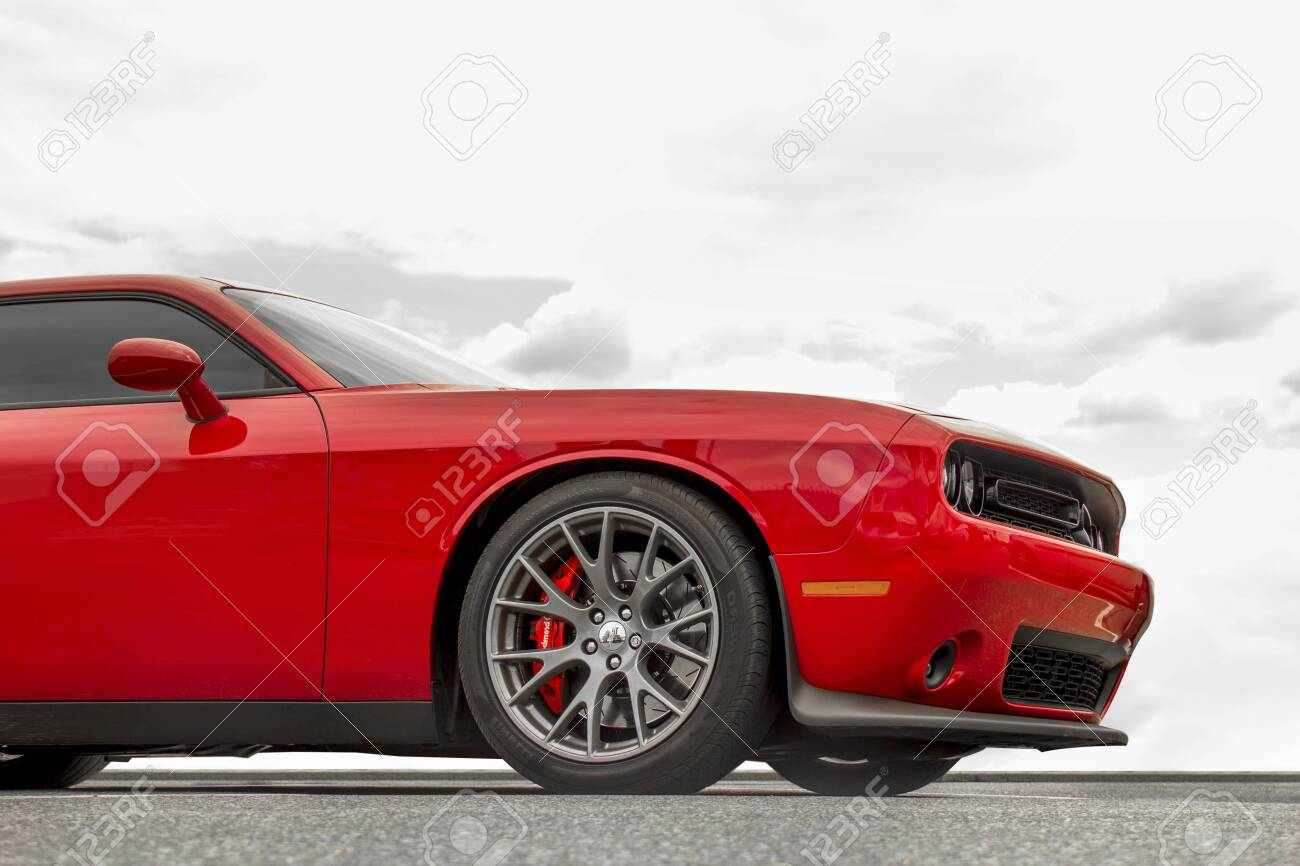 Kiev Ukraine April 21 2020 Muscle Car Dodge Challenger Srt8 Stock Photo Picture And Royalty Free Image Image 146632597