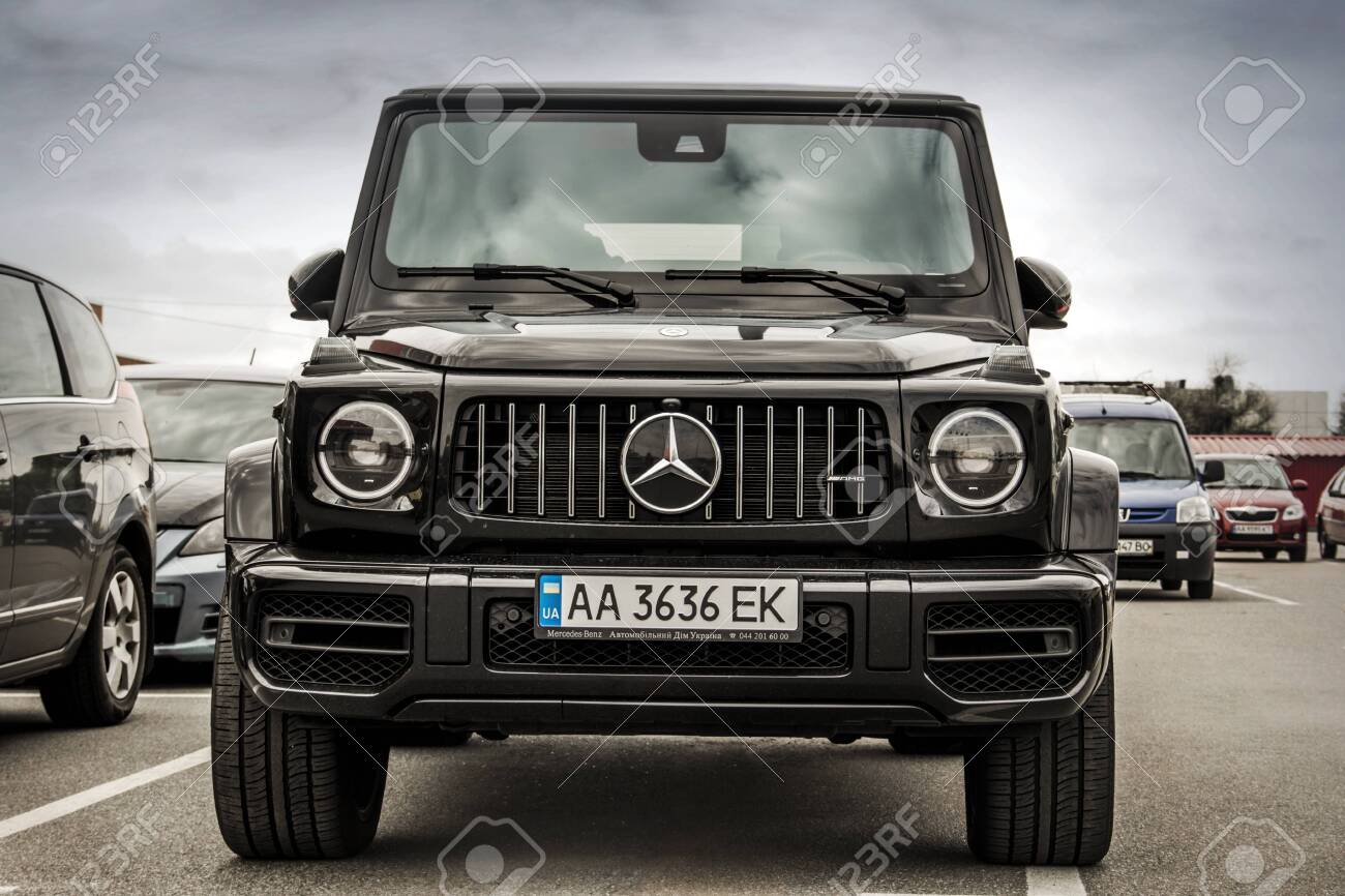 Kiev Ukraine May 19 2020 Mercedes Benz G Class Amg In The Stock Photo Picture And Royalty Free Image Image 152052504