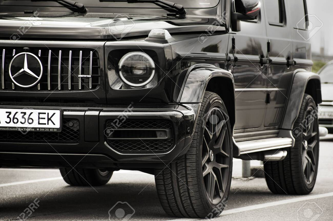 Kiev Ukraine May 19 2020 Mercedes Benz G Class Amg In The Stock Photo Picture And Royalty Free Image Image 152053042