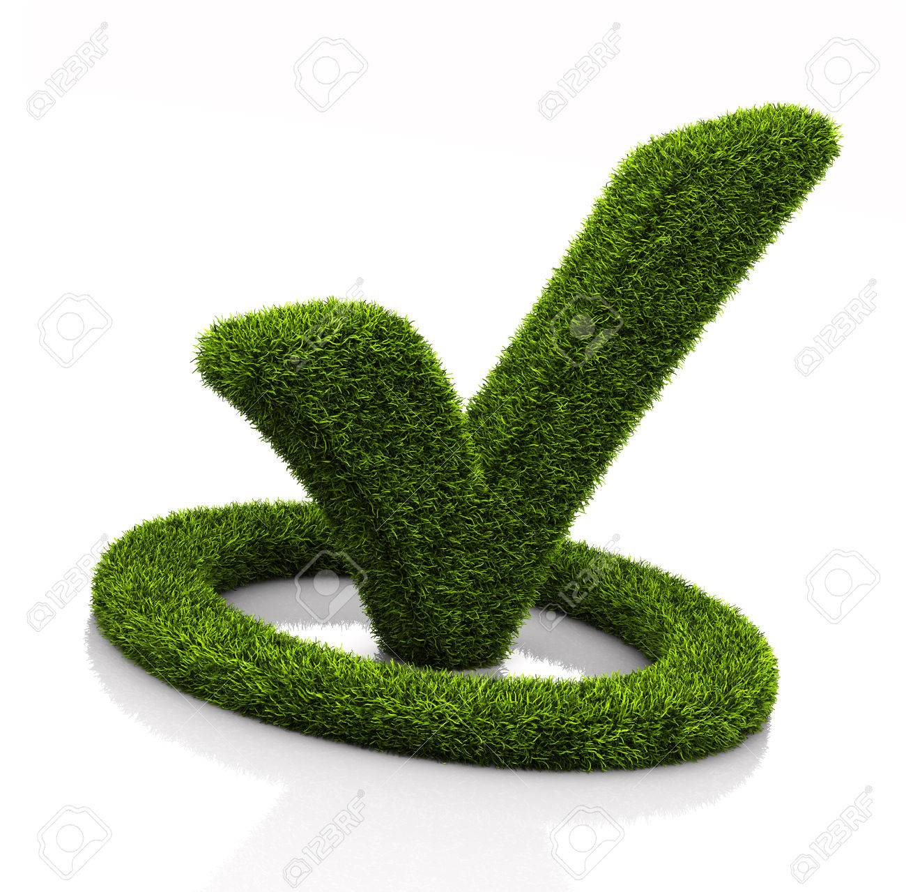Green grassed check mark symbol in the circle on white background green grassed check mark symbol in the circle on white background stock photo 64610910 biocorpaavc Image collections