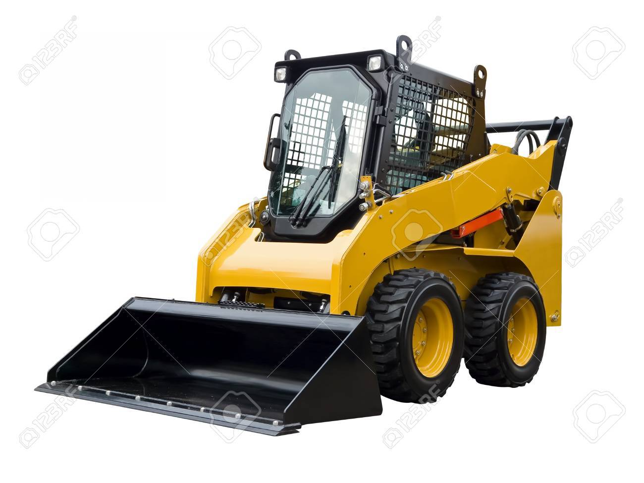 Small buldozer Stock Photo - 21621476