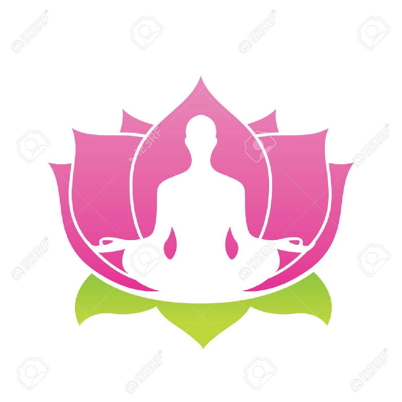 Lotus flower abstract vector icon yoga asana illustration royalty lotus flower abstract vector icon yoga asana illustration stock vector 37667437 mightylinksfo