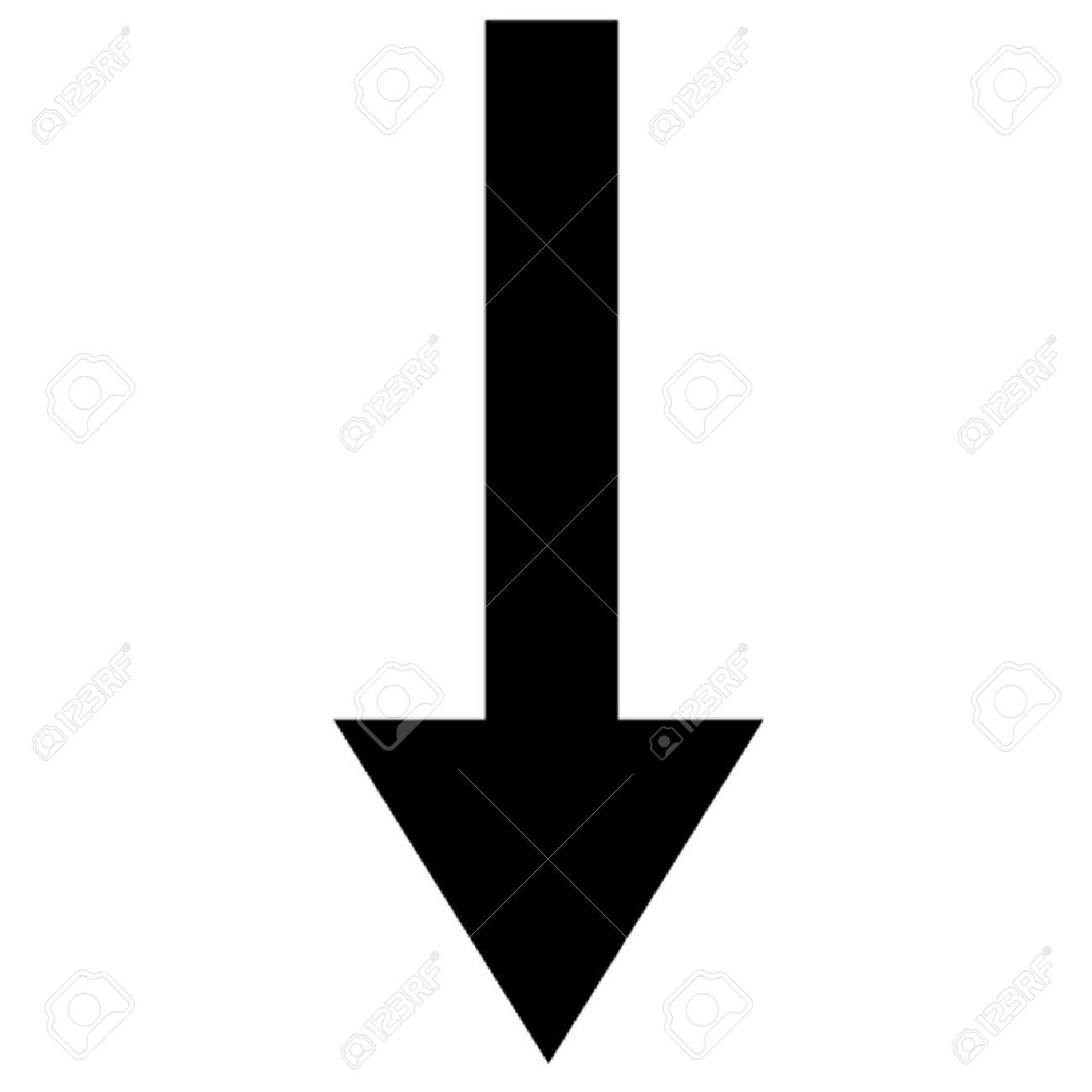Arrow Pointing Down >> Arrow Pointing Down Royalty Free Cliparts Vectors And Stock